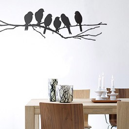 Firm Living - Wallsticker Lovebirds