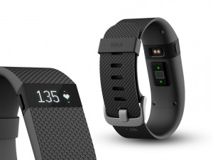 Fitbit Charge HR viser puls